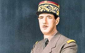 Greatness thrust upon him: General de Gaulle in 1940