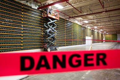 A bitcoin mine (Photo: Getty)