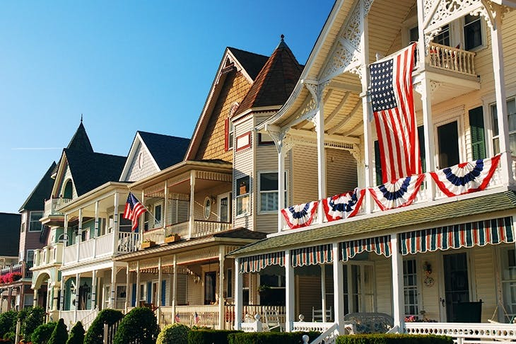 The real America: NJ's clapboard houses