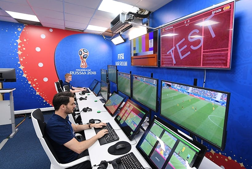 The VAR room in Moscow (Photo: Getty)