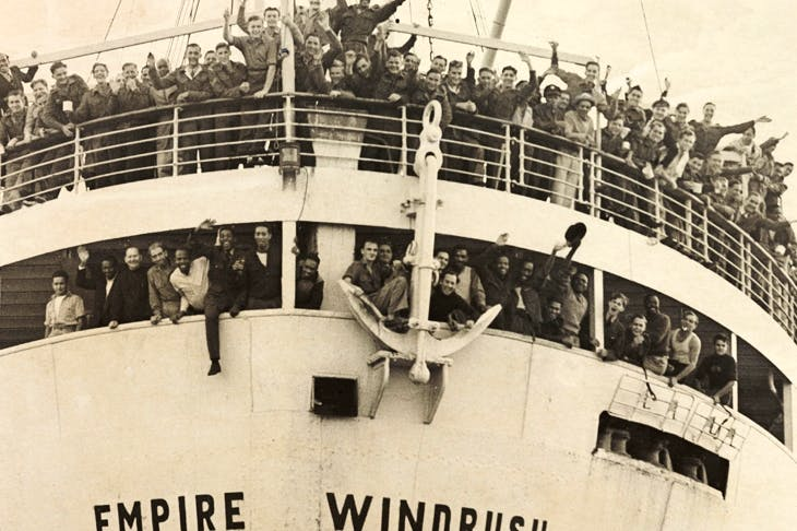 The Empire Windrush arriving from Jamaica, 1948, at Tilbury docks. Photo: Daily Herald Archive / SSPL / Getty Images