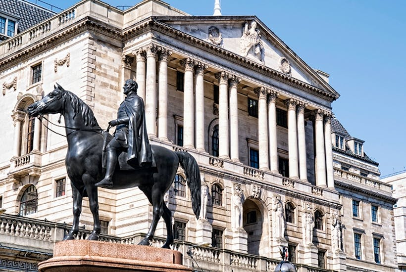 How easy is it to break into the Bank of England?   The