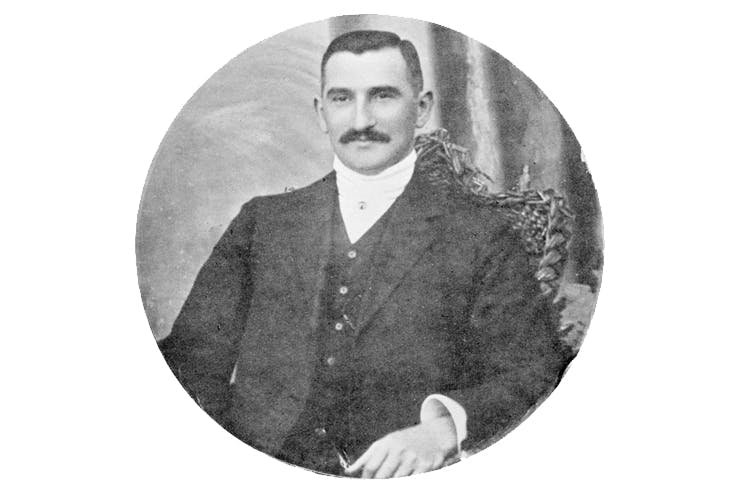Oscar Slater in 1908. Though the police knew he was innocent, they insisted on bringing him to trial (The Bridgeman Art Library)
