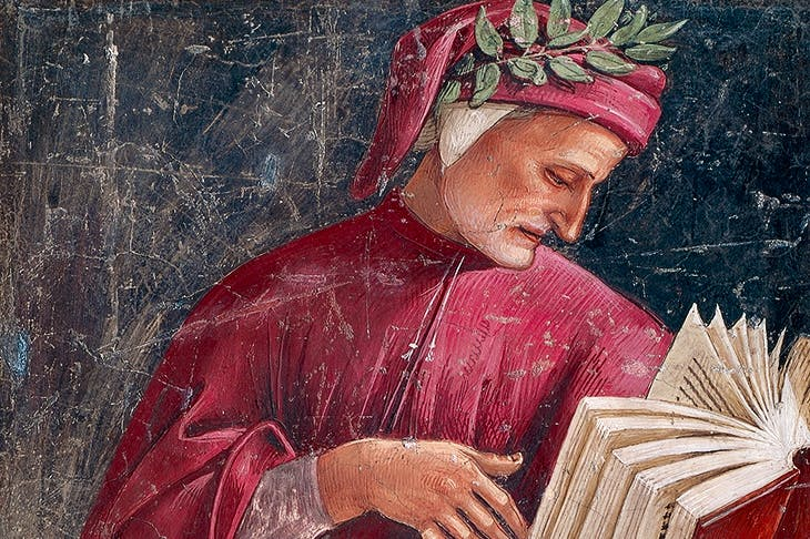 Portrait of Dante by Luca Signorelli