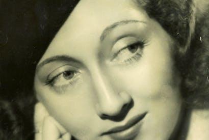 Anita Leslie, aged 23 in 1937 © Tarka Leslie-King