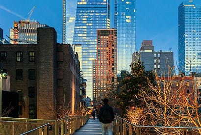 Lofty ambition: The High Line public park