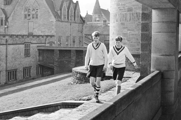 Pupils at Ampleforth in 1952 [Getty]