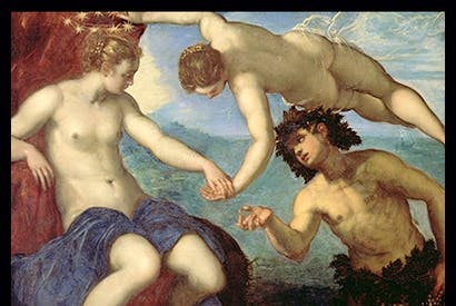 'The Discovery of Ariadne', 1578, by Tintoretto