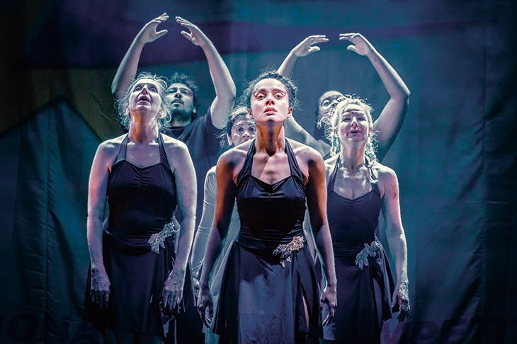 Teen spirit: Karla Crome in Dance Nation at the Almeida Theatre