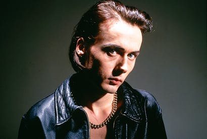 Reluctant sex object: Brett Anderson, lead singer of Suede, in 1993