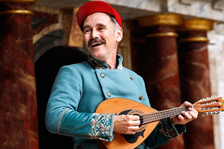 Star quality: Mark Rylance as Iago at Shakespeare's Globe