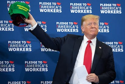 There is method in the apparent madness of Donald Trump's trade wars. Photo: Getty