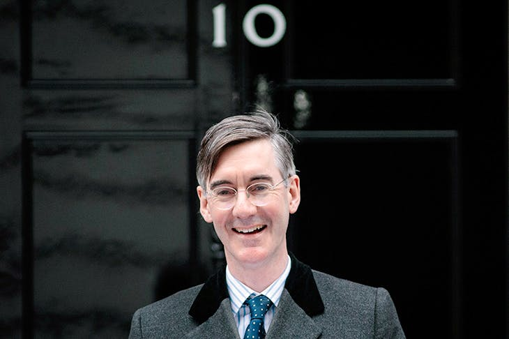 'The possibility that our next PM will be named Mogg has prompted me to enquire about one-way tickets to Switzerland.' Photo: Getty