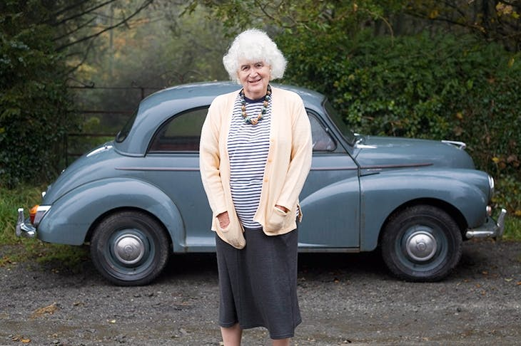 Jan Morris. Credit: Colin McPherson/Getty Images