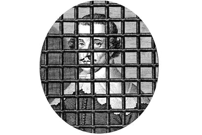 Man behind bars: John Lilburne spent more than 12 years of his short life in prison or exile - THE BRIDGEMAN ART LIBRARY