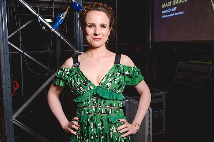 Cariad Lloyd has an excellent mission: to get us talking about death. Photographer. Image: Jonny Birch/Bafta/Rex/Shutterstock