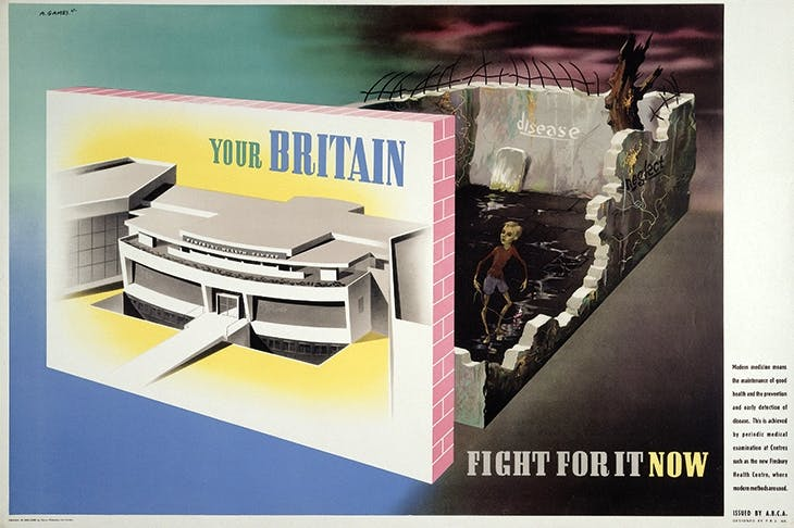 'Your Britain: Fight for it Now', 1942, by Abram Games