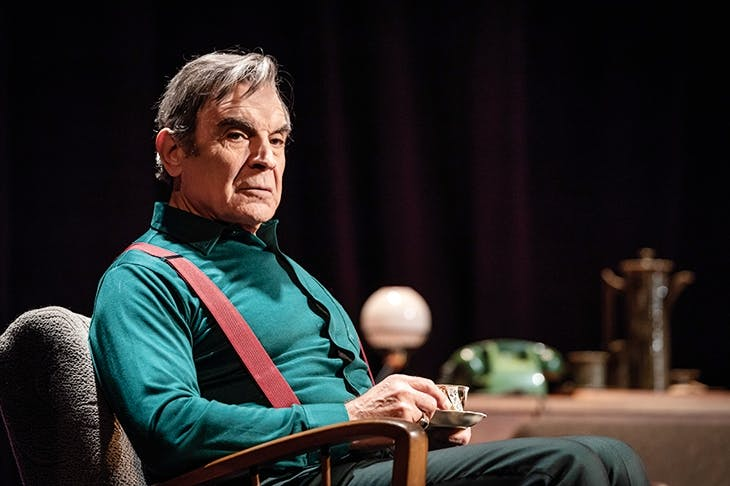 David Suchet as Harry in The Collection, part of Pinter Two