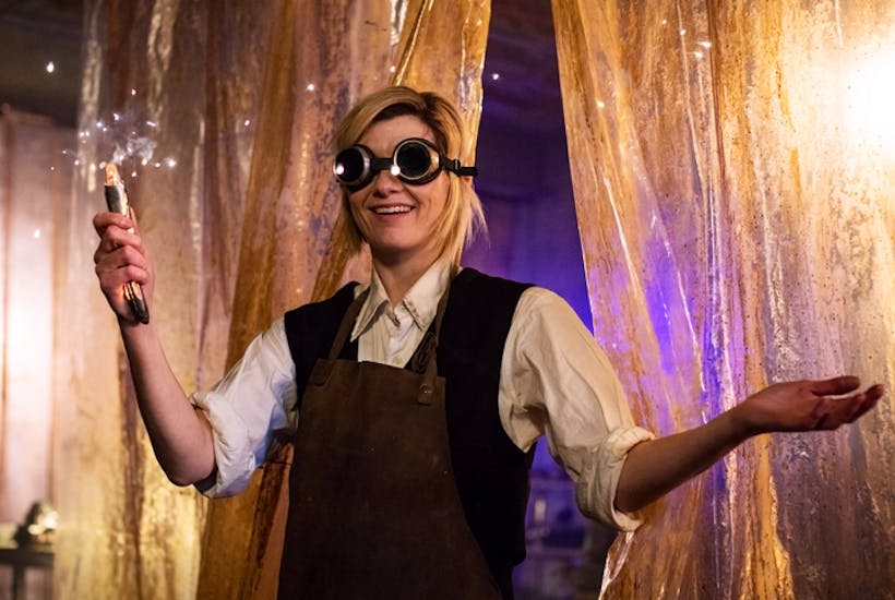 The new Doctor Who Jodie Whittaker is a delight – but the script isn