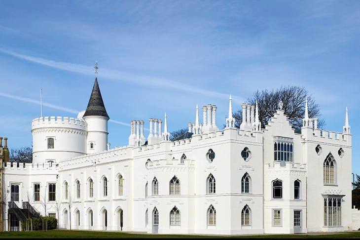 Gothic revival: Strawberry Hill House