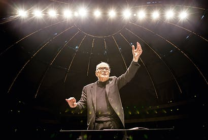 A major modernist hiding in plain sight: composer Ennio Morricone at 91