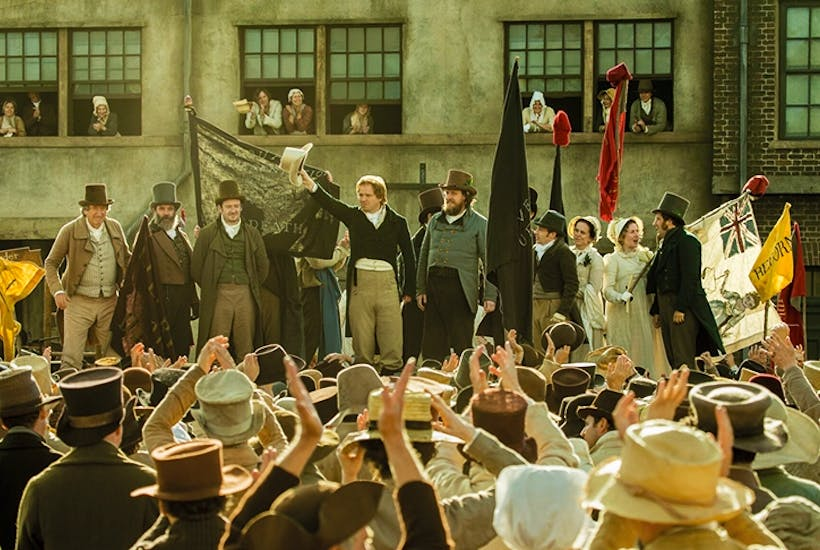 It's like being trapped in an episode of Poldark: Peterloo