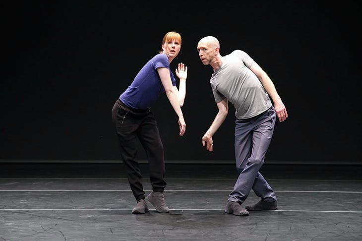 Jill Johnson and Christopher Roman in William Forsythe's Catalogue