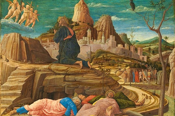 'The Agony in the Garden', c.1455–6, by Andrea Mantegna