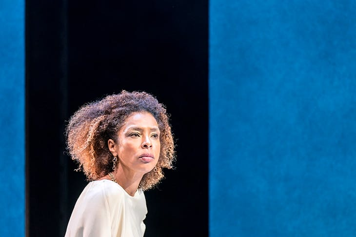 Sophie Okonedo exudes sexiness and regality as Cleopatra in Antony and Cleopatra at the Olivier Theatre