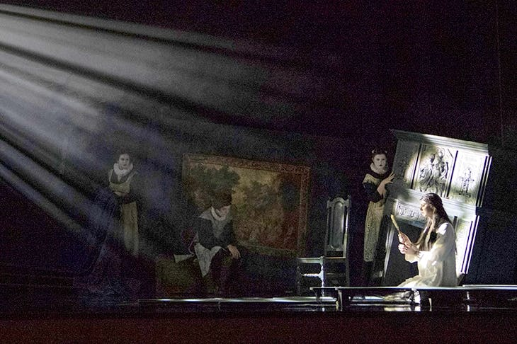 English Touring Opera's handsome production of Dido and Aeneas. Photo: Richard Hubert Smith