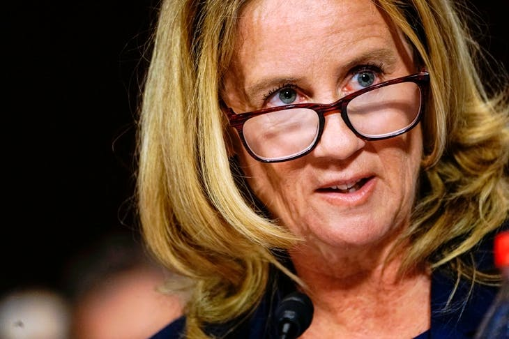 Why Christine Blasey Fords Testimony Didnt Make Me Cry The Spectator