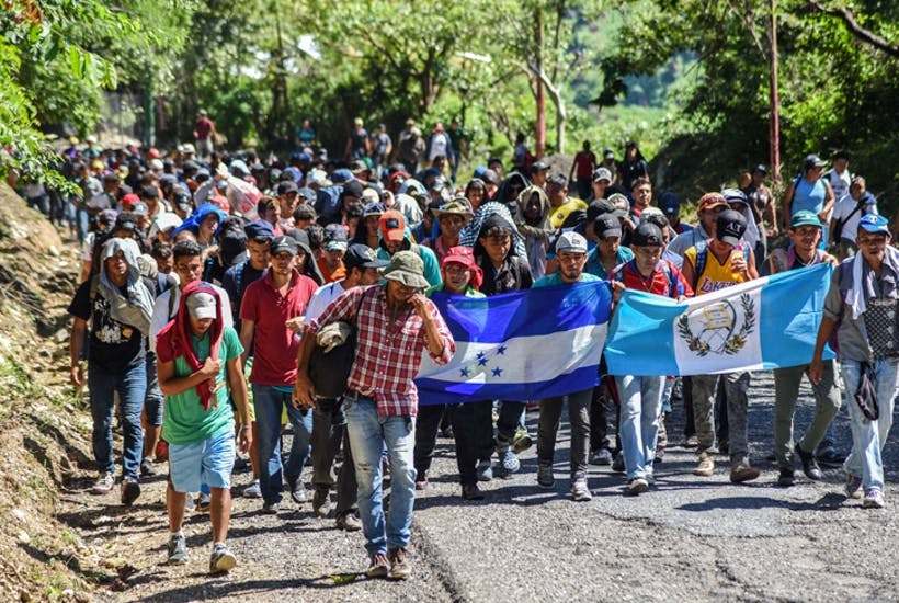 The march of the migrants poses a dilemma for America | The