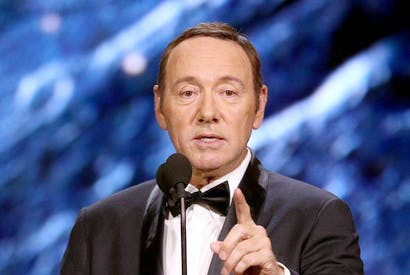 Never handsome, just sensuous and dangerous: Kevin Spacey