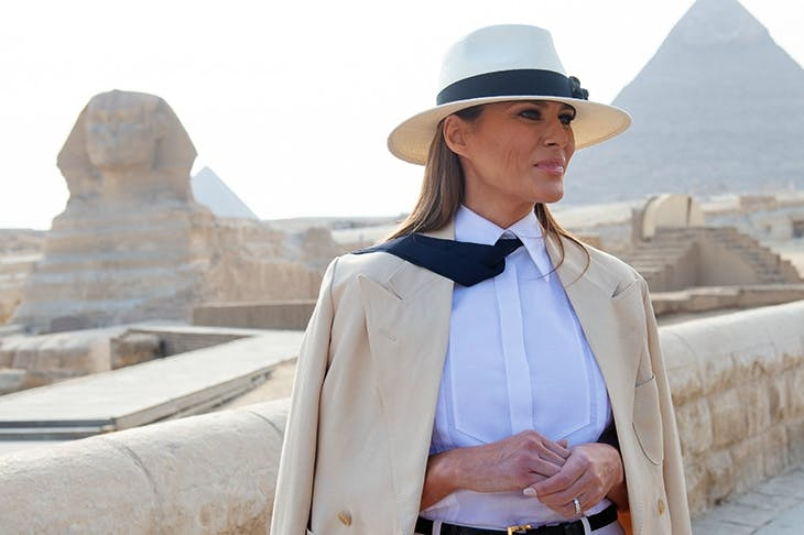 The riddle of Melania