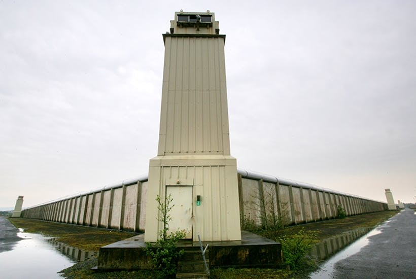 The Maze Prison in 2006. Photo: REX/ Shutterstock