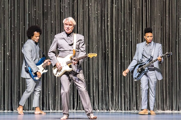 Money to Byrne: David Byrne deserves every penny he makes from this tour