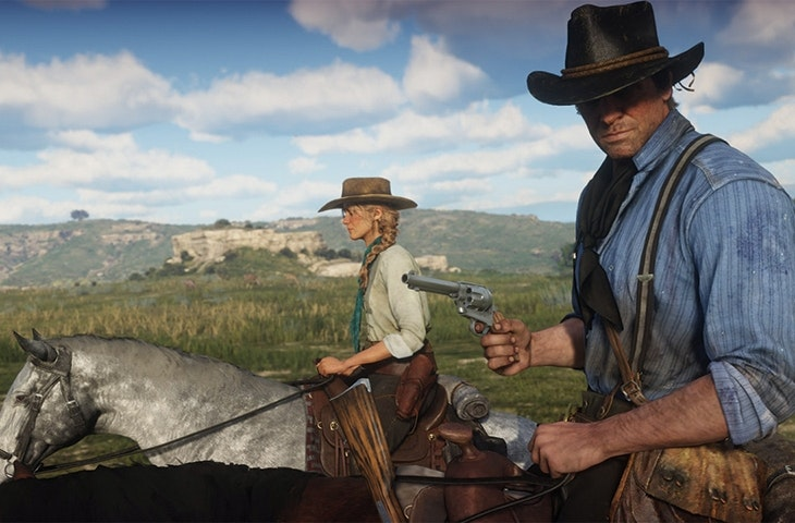 What does the commonplace cruelty of Red Dead Redemption say