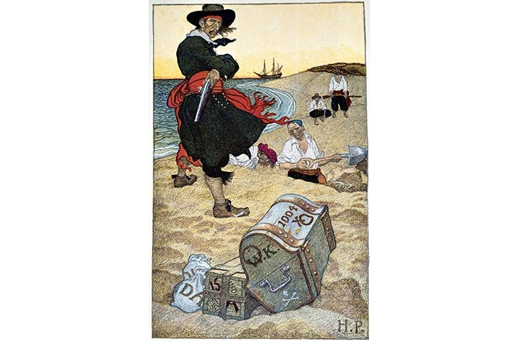 'He strikes me dumb with admiration.' Van Gogh on Howard Pyle's pirate illustrations