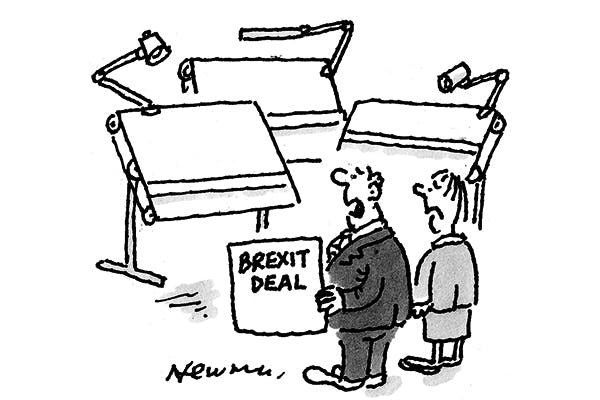 'We can't decide which drawing board to go back to.'