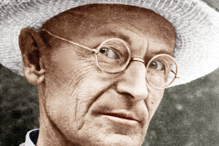 Hermann Hesse in 1956 [Getty Images]