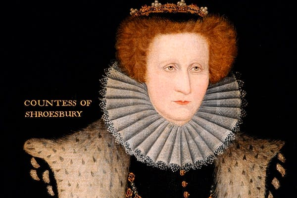The second richest woman in England: Bess of Hardwick as Countess of Shrewsbury. (English School, 16th century)