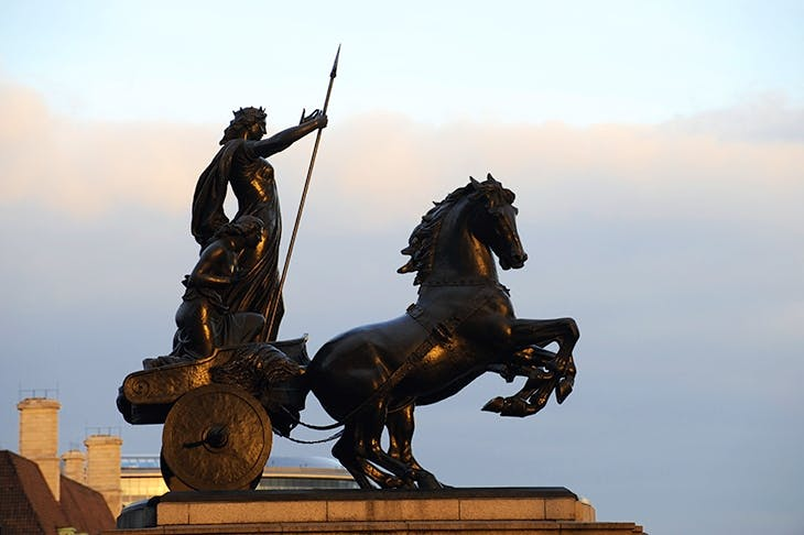 The defeat of Boudica is believed to have been fought on Watling Street