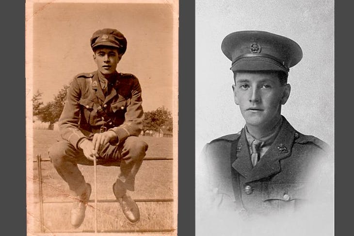Henry Williamson and Charles Carrington, two of the soldiers featured in Radio 4's Voices of the First World War