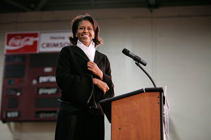Michelle Obama during the 2008 Democrat primaries. Photo: Chip Somodevilla / Getty Images