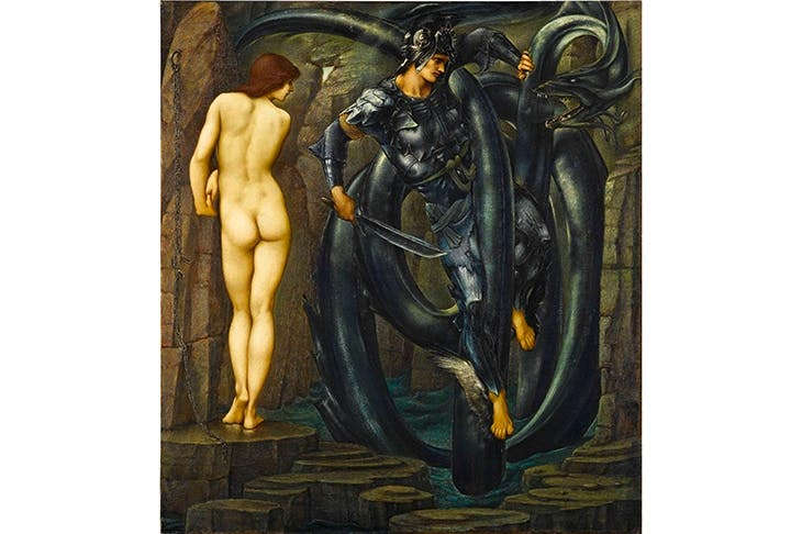 'The Doom Fulfilled', by Edward Burne-Jones, 1888