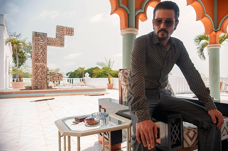 Diego Luna as Felix Gallardo in Netflix's latest series of Narcos. Photo: Carlos Somonte / Netflix