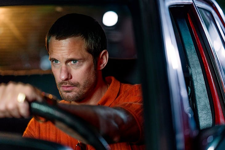 Alexander Skarsgard as Becker in BBC1's The Little Drummer Girl
