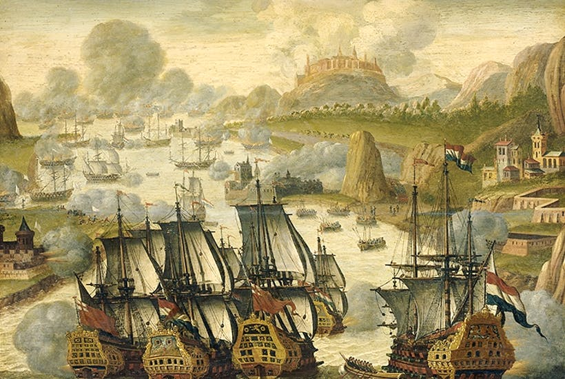 The Battle of Vigo, 1702. [Getty Images]