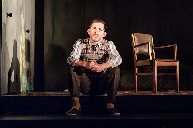 Lee Evans in Pinter Three. Photo: Marc Brenner
