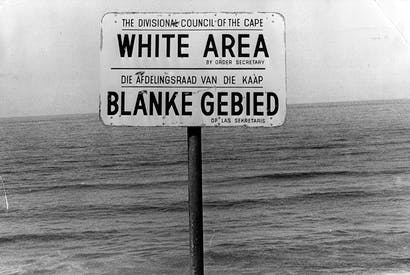 How apartheid poisoned the world
